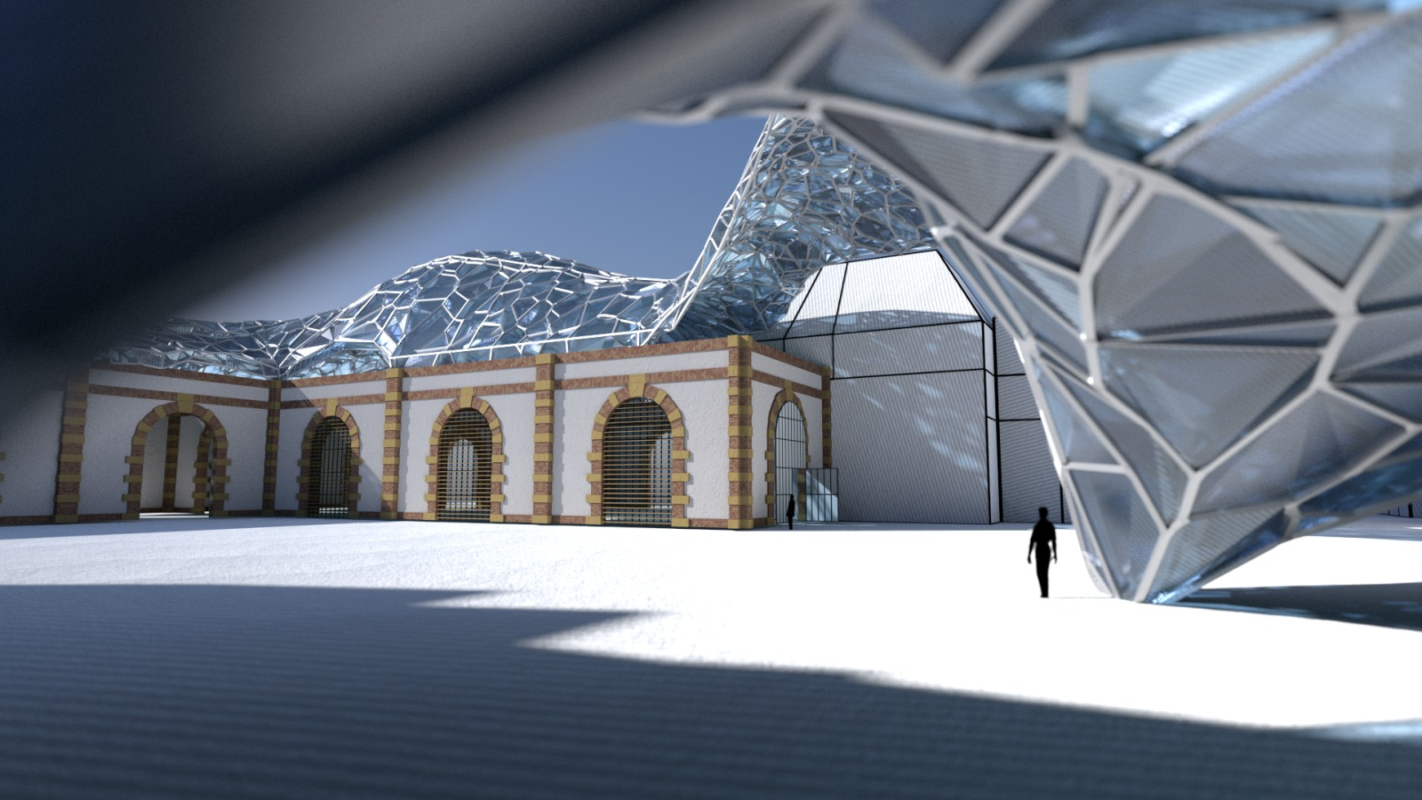 Architectural experiments for blender conference with for For architecture