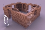 construction en adobe
