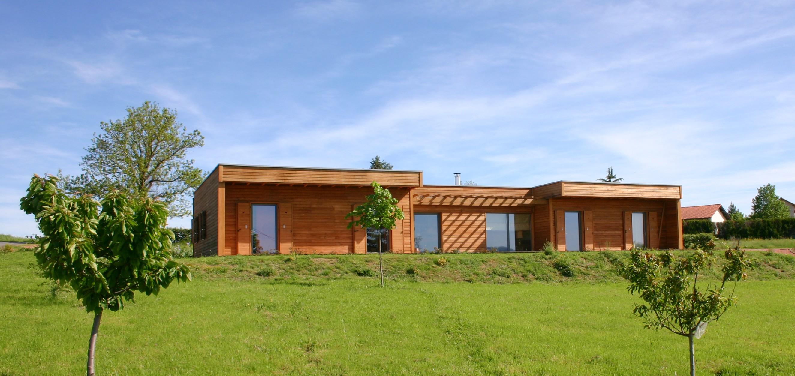 maison 02 ossature bois bottes de paille matthieu dupont de dinechin architecte dplg. Black Bedroom Furniture Sets. Home Design Ideas